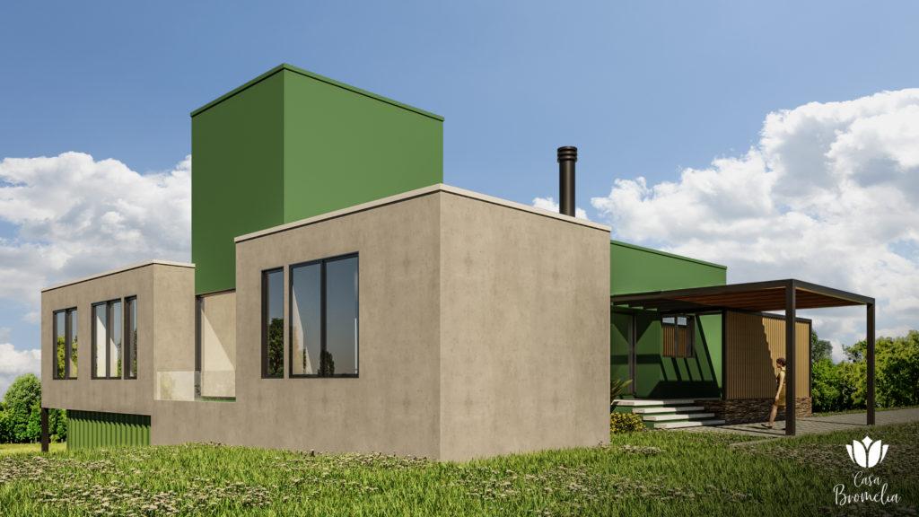 Casa Bromélia